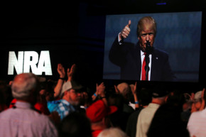 Trump To The NRA: You Have A Friend In The White House