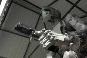 This Gun-Toting Robot Was Designed To Go To Space