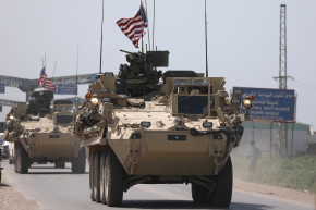 Syrians Rage Over American Flag-Flying Tanks