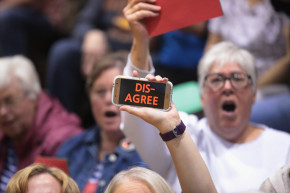 GOP Reps Return Home To Angry Health Care Town Halls