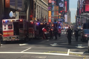 Car Hits Pedestrians In Times Square, Killing One And Injuring 22