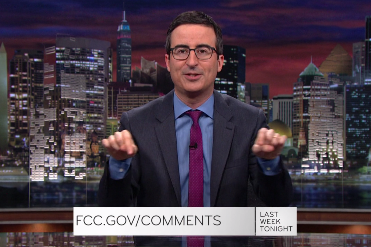 John Oliver Crashed the FCC Website Over Net Neutrality, Again