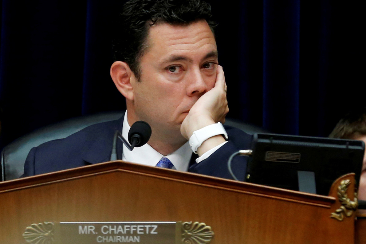 House Oversight Committee Chairman Chaffetz to step down in June