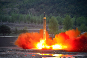 North Korea Tests A Missile, And International Resolve