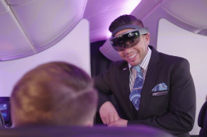 Can HoloLens Really Improve In-Flight Service?