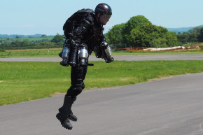 Britain's 'Iron Man' Can Fly