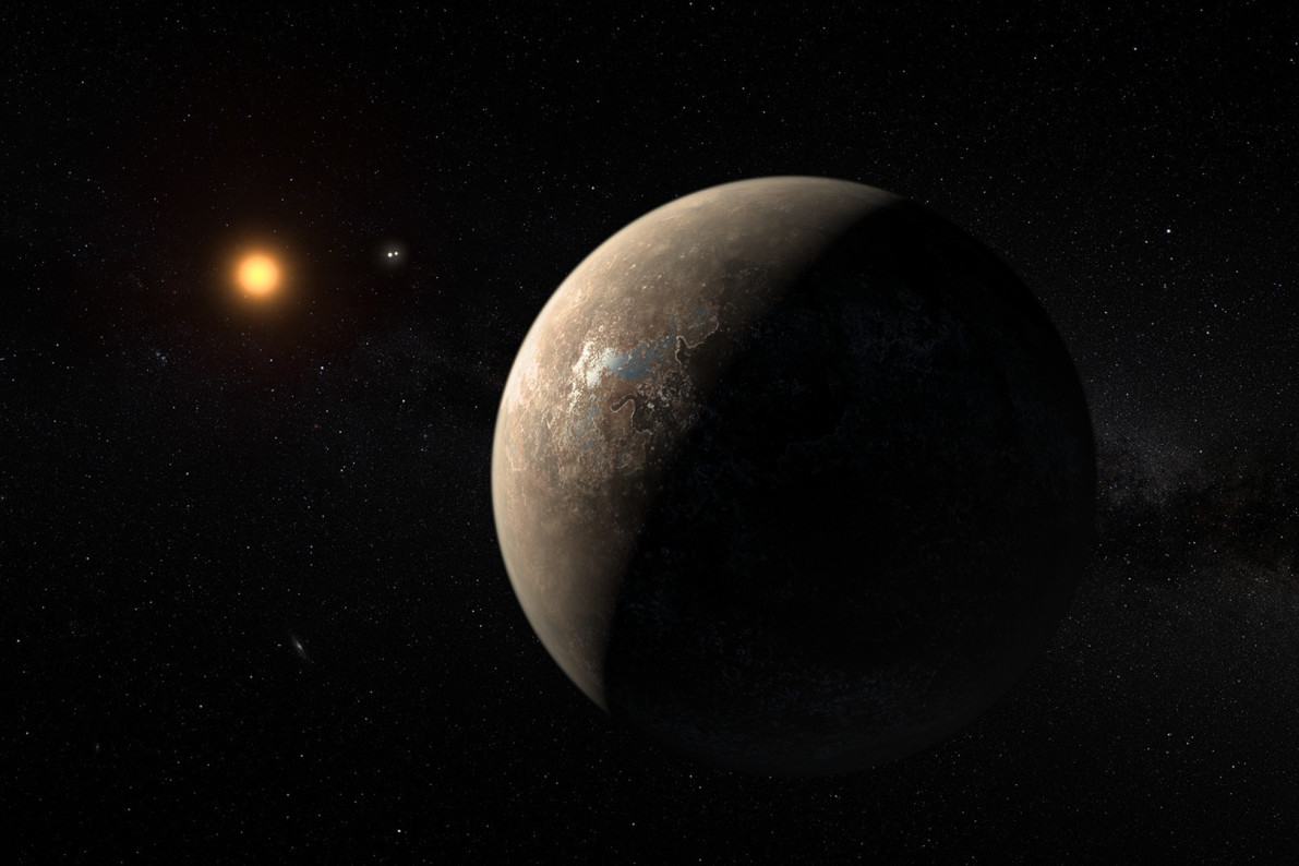 Exoplanet Proxima b may host alien life
