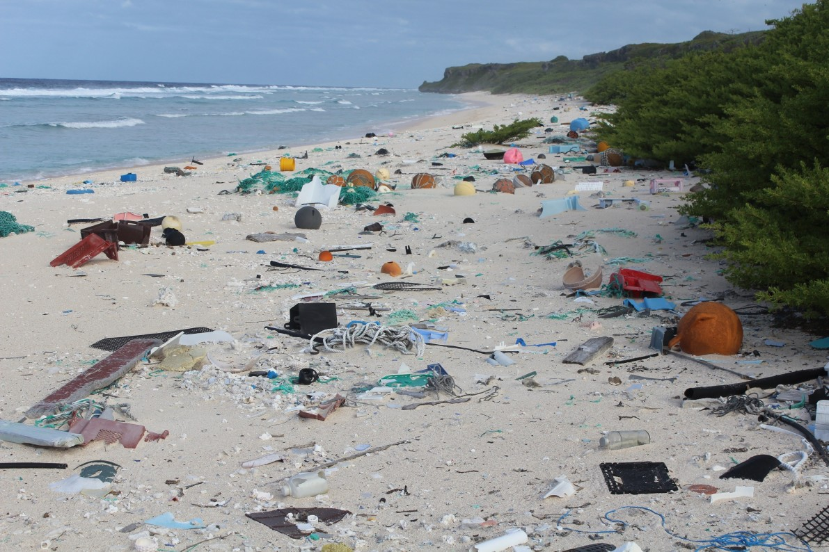 Scientists find 38 million pieces of trash on Pacific island