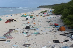 No One Lives On This Remote Island. It's Still Covered In Trash