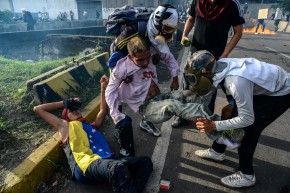 As Violence Rages In Venezuela, Athletes Call For Peace