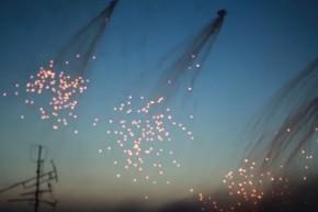 Syrians Accuse U.S.-Led Forces Of Bombing Raqqa With White Phosphorus