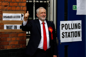 Early Exit Polls Indicate May's Conservatives Could Lose Majority