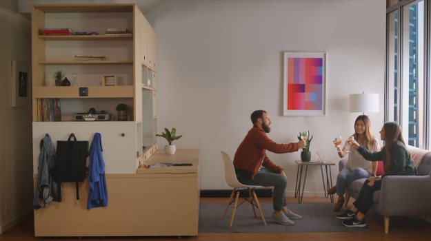 the future of furniture. is robotic furniture the future of city living l