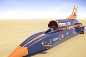 Rocket Car Racing Towards 1,000 MPH World Record