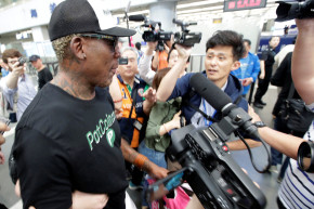 Why Is Dennis Rodman In North Korea Again?