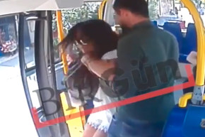Turkish Woman Fights Back Against Bus Attacker