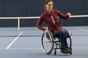 New Wheelchair Turns Without Hands