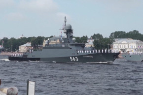 Russia Just Had Its Largest Naval Day Parade Ever