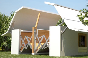 This Folding Home Assembles Itself In 8 Minutes