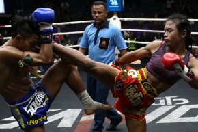 Transgender Thai Boxer Breaks Into The Big Leagues
