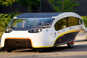 This Solar Car Hopes To Charge Past The Competition