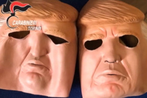 Trump Masks Were Used To Rob ATM Machines