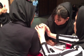 Iran's Newest Sport Is Women's Arm Wrestling