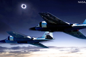Telescope-Mounted Jets Will Chase The Solar Eclipse