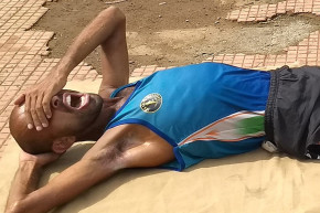 'Faith Runner' Collapses On Final Day Of 10,000 km Quest