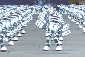 This Massive Robot Dance Party Set A World Record