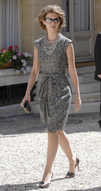 Classify Asma-Al Assad, first lady of Syria