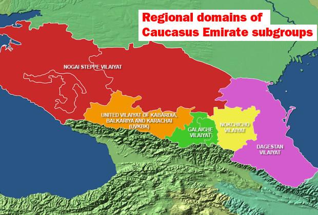 Caucasus Emirate_Map