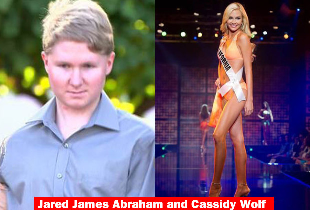 Jared James Abraham and Cassidy Wolf