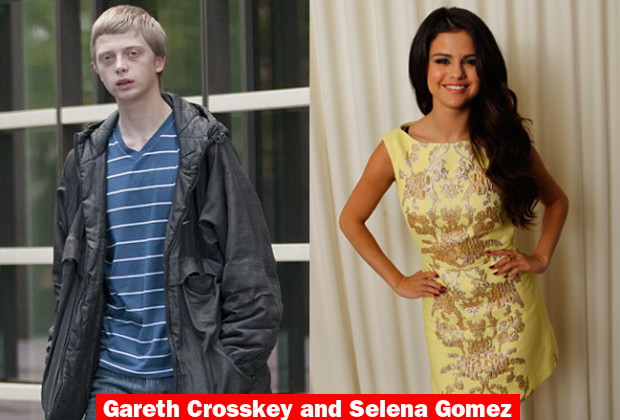 Gareth Crosskey and Selena Gomez