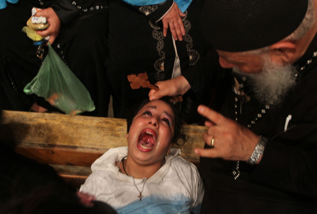 Before exorcisms at St. Sama'ans Church were closed, Christians and Muslims would go on Thursdays in hopes to be cured.