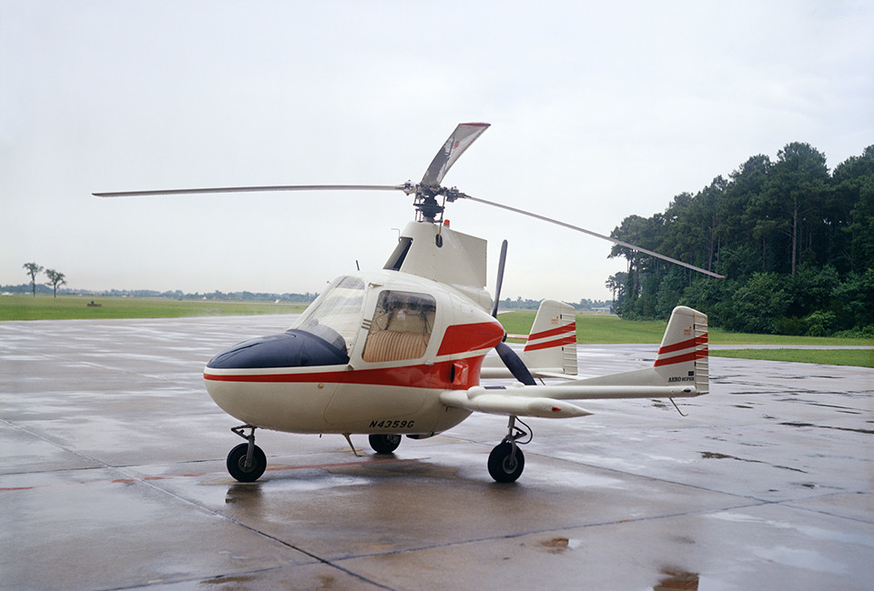 The McCulloch J-2 was a gyroplane tested by NASA pilot James Patton in the summer of 1973. The J-2 was a revival of a concept first tested by the NACA at Langley with the Pitcairn PCA-2 autogiro.