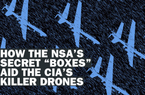NSA Drone SIGINT Poster