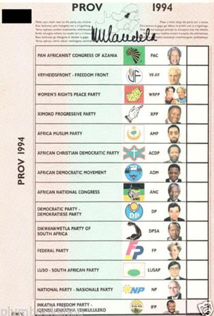 Mandela Election Form 4250x620