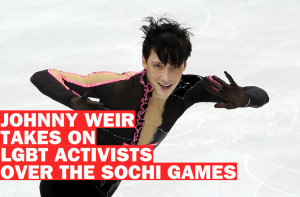 johnny weir olympics