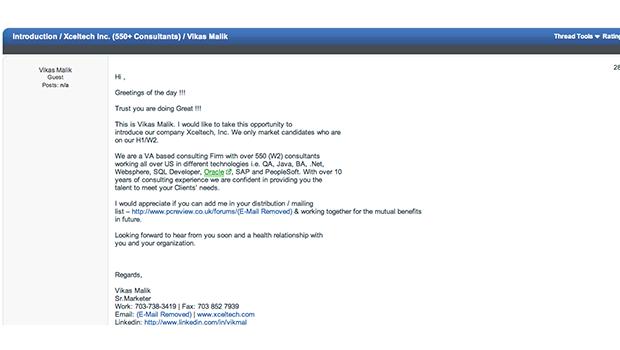 H1B Visa Scam Screenshot 04