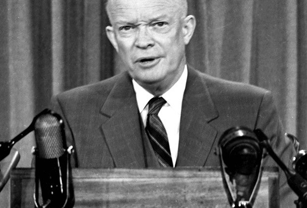 Jan. 1, 2011 - PRESIDENT DWIGHT D. EISENHOWER .8/7/1953.©SUPPLIED BY    DWIGHTDEISENHOWEROBIT(Credit Image: © Globe Photos/ZUMAPRESS.com)