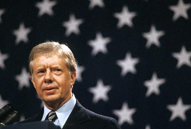 Sep 13, 2004; Washington, DC, USA; (File Photo. Date Unknown) Former US President JIMMY CARTER during his presidency..  (Credit Image: Arthur Grace/ZUMAPRESS.com)