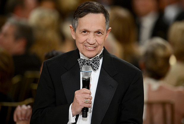 CULVER CITY, CA - JUNE 07:  Sen. Dennis Kucinich speaks at the 40th AFI Life Achievement Award honoring Shirley MacLaine held at Sony Pictures Studios on June 7, 2012 in Culver City, California. The AFI Life Achievement Award tribute to Shirley MacLaine will premiere on TV Land on Saturday, June 24 at 9PM ET/PST.  (Photo by Kevin Winter/Getty Images for AFI)
