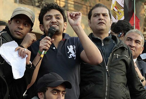 Wael Ghonim is back in the Egyptian spotlight