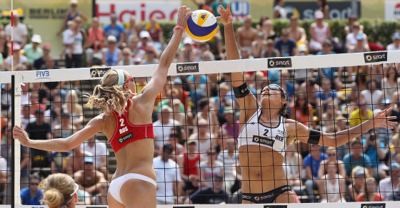 Berlin's Bizarre Beach Volleyball Obsession
