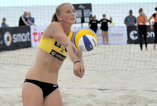 Berlin Beach Volleyball Craze Luise Rossek