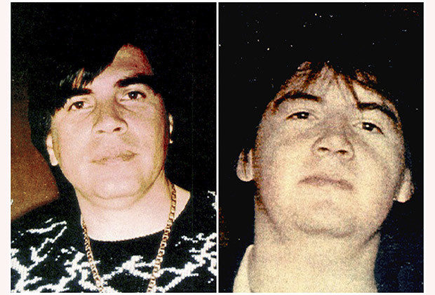 A combination of undated police photos show Benjamin (L) and Ramon Arellano Felix. The brothers took over the business after Mexican police and DEA arrested Felix Gallardo and moved up to Tijuana on the U.S. border to smuggle cocaine into California.