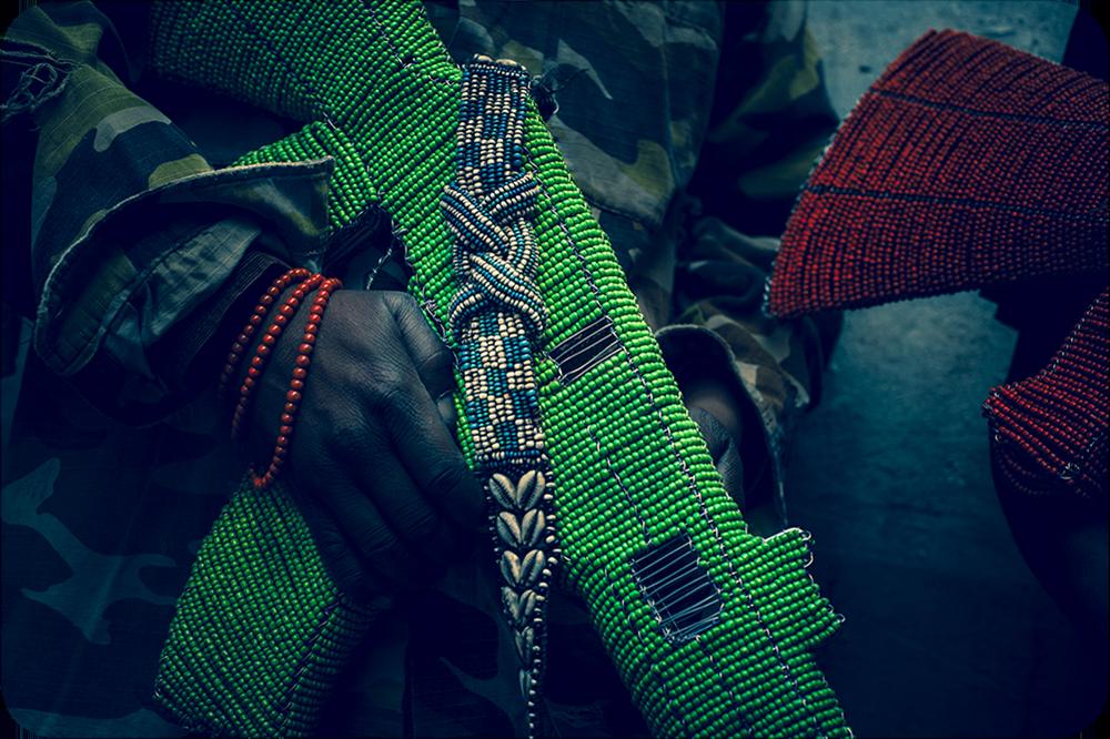 The Beaded Guns of Africa