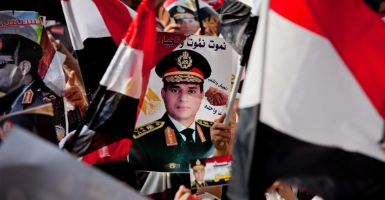The Cairo Cult of Field Marshal Al-Sisi