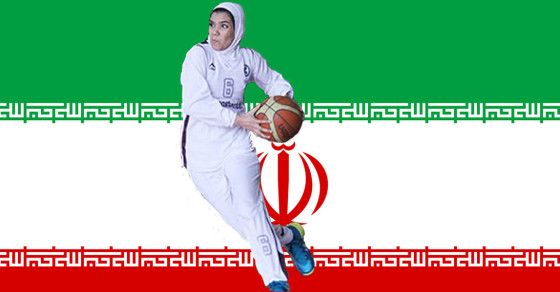 Hoops and Headscarves: Iran's Top Women Basketball Players in Action